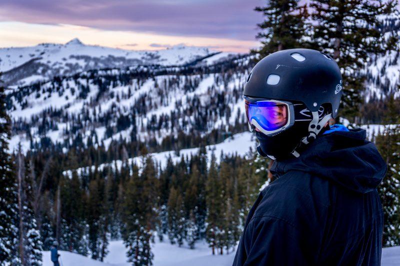 masque de ski neige