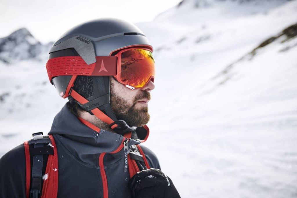 tous les types de masque de ski