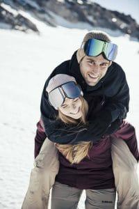choisir masque ski par temps
