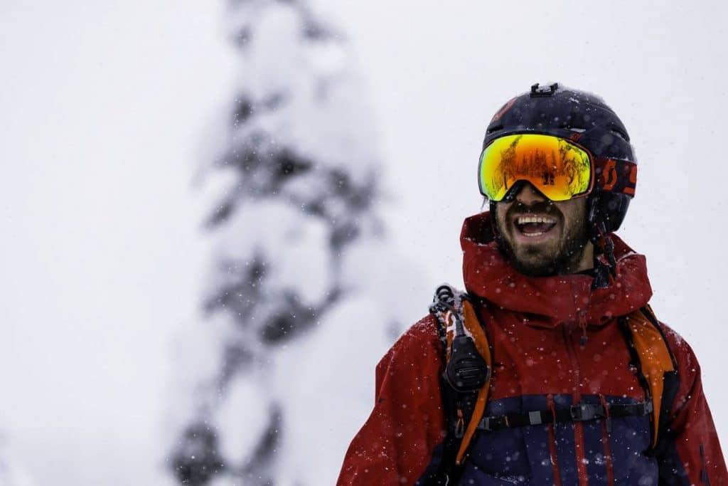 choix couleur teinte masque ski