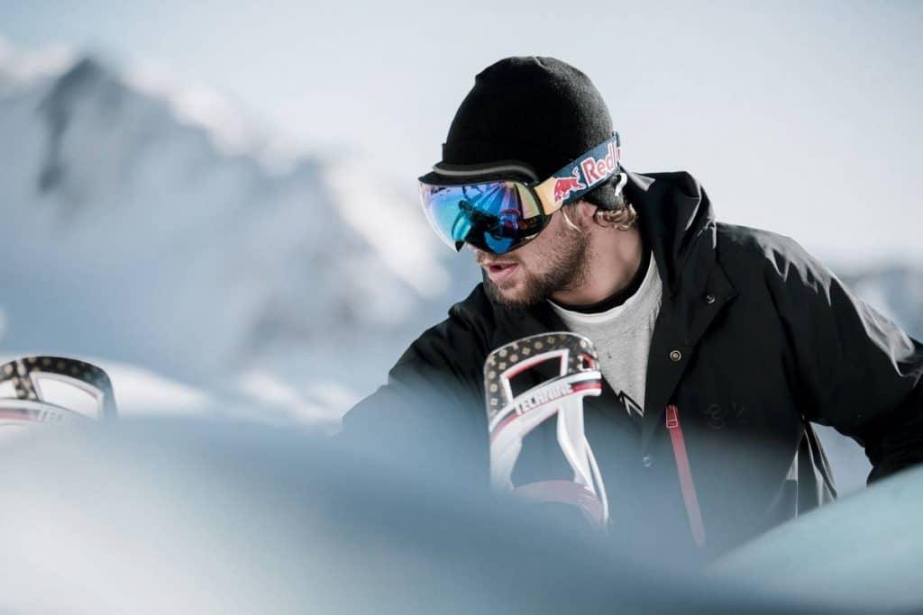 masque ski par temps