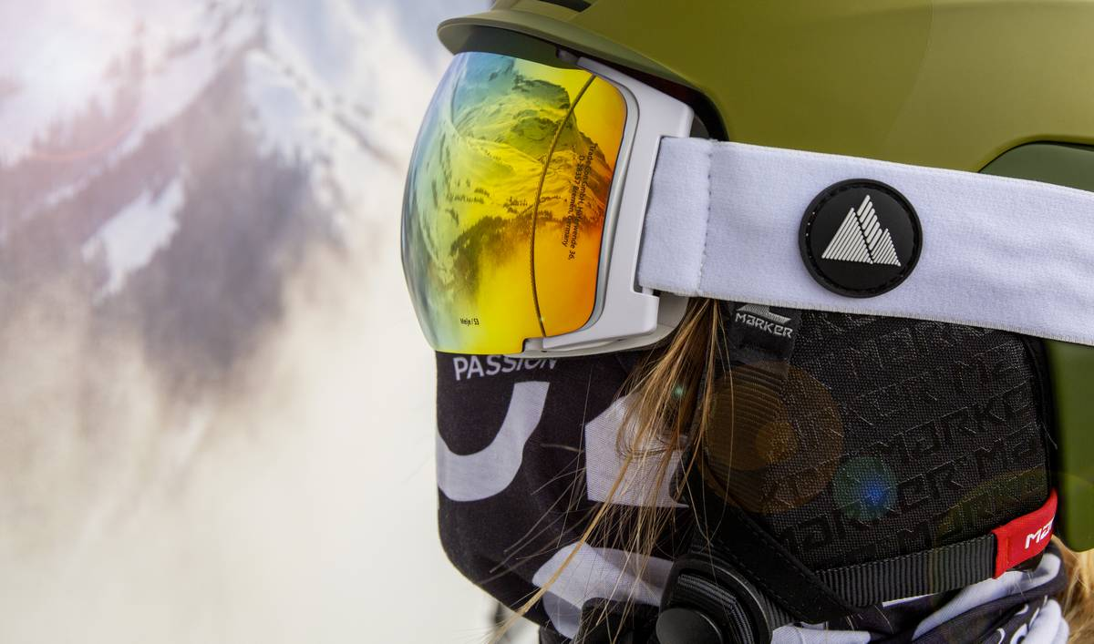 masque de ski winter your life jaune