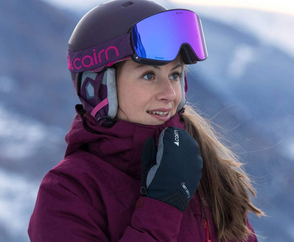 masque de ski mauvais temps